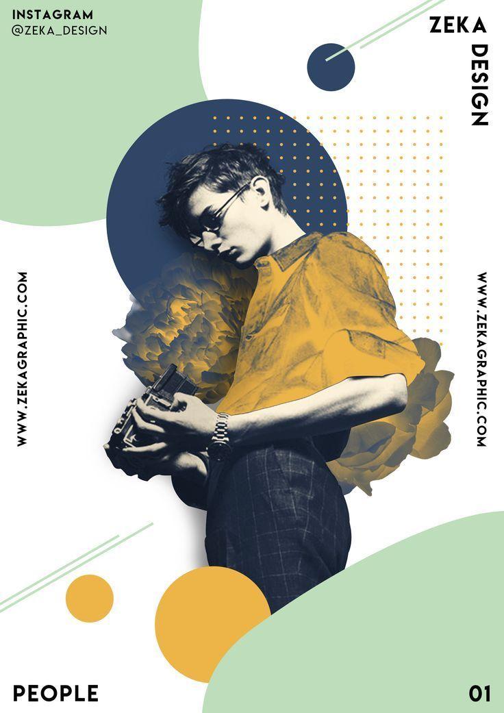 Menschen Poster Design 01 Zeka Design – #design #m…
