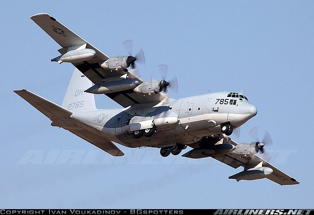 US Marines: Lockheed KC-130T Hercules (L-382)