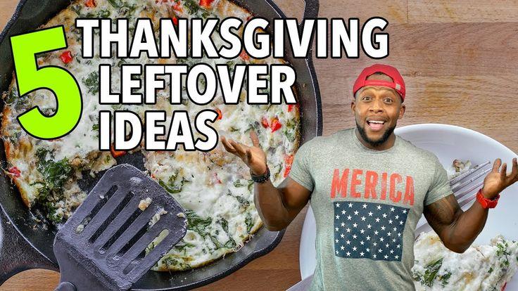 5 Healthy Thanksgiving Leftover Recipe Ideas / 5 Ideas para Sobras del D...