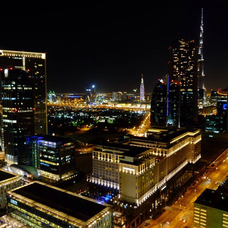 #Christmas Eve view 24/12/2014 from DIFC #Dubai