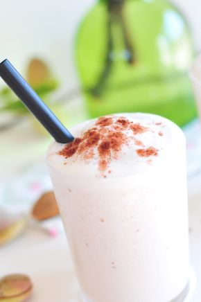 Eisshake vegan und fructosearm mit Mandelmilch
