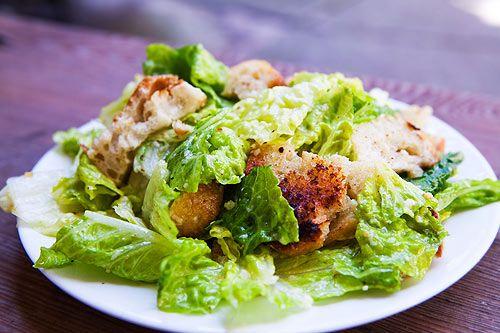 Cesear Salad With Homemade Dressing on MyRecipeMagic.com