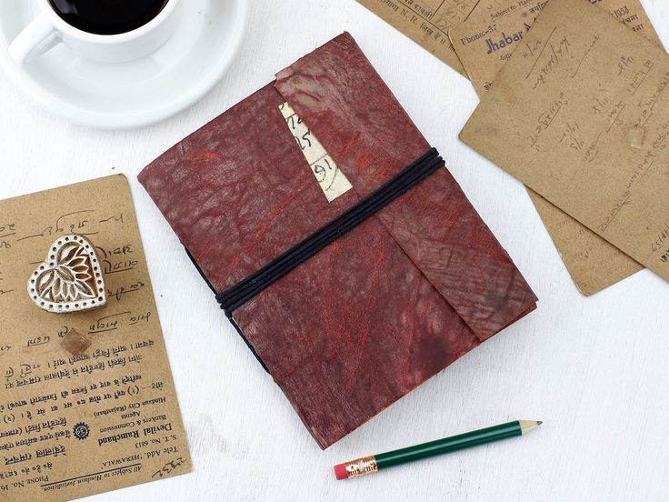 Vintage Leather Journal - a father's day gift Indiana Jones would approve of!