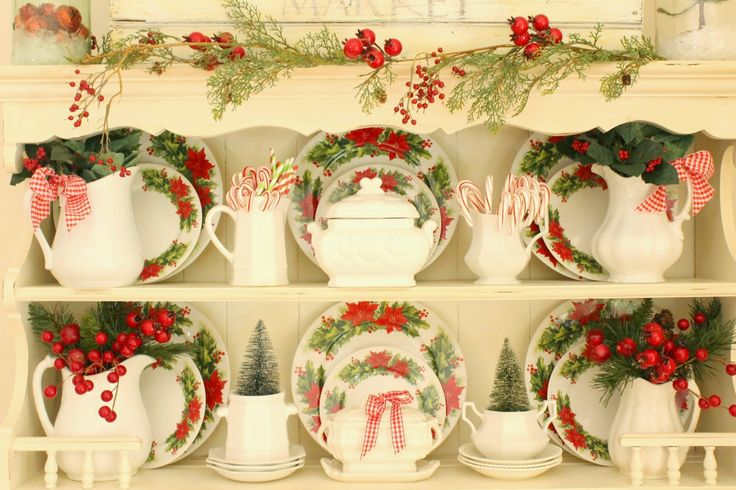 40 gorgeous christmas kitchens decked out from red dishes to fresh greenery easy decorating ideas to create a welcoming christmas kitchen