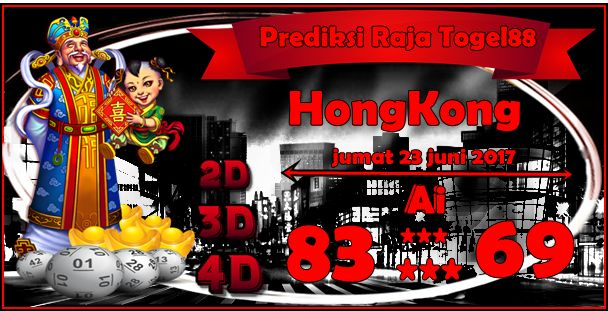 Prediksi Raja Togel Hongkong Jumat 23 Juni 2017