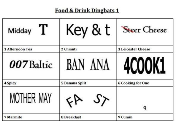 Ken's Dingbats | A free quiz resource (Excellent for ...