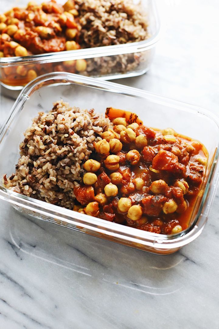Healthy Moroccan Chickpea Stew