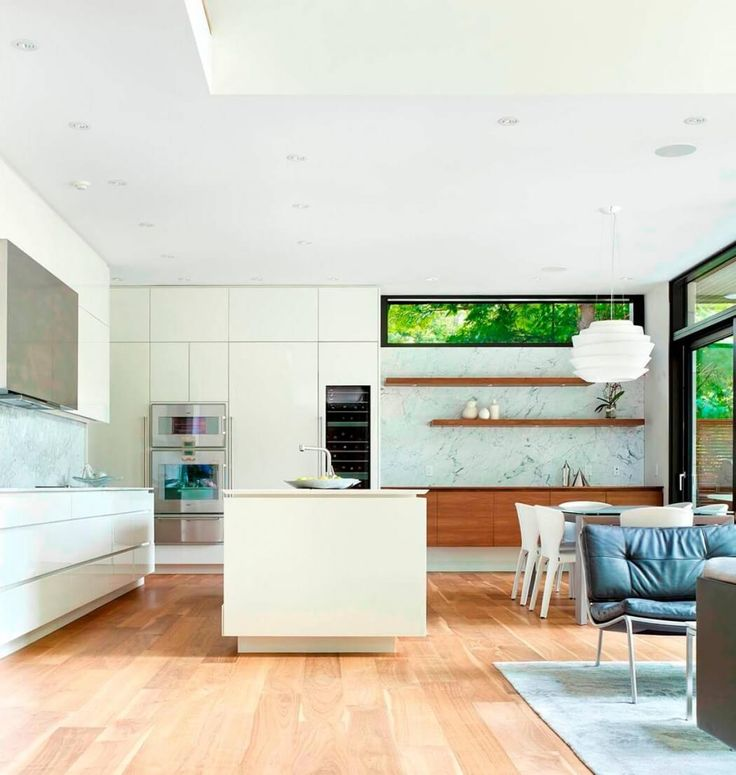 Don Mills Residence By Jillian Aimis   Use Two Different Cabinet Finishes  To Differentiate The Kitchen · Modern Kitchen DesignKitchen ... Part 87