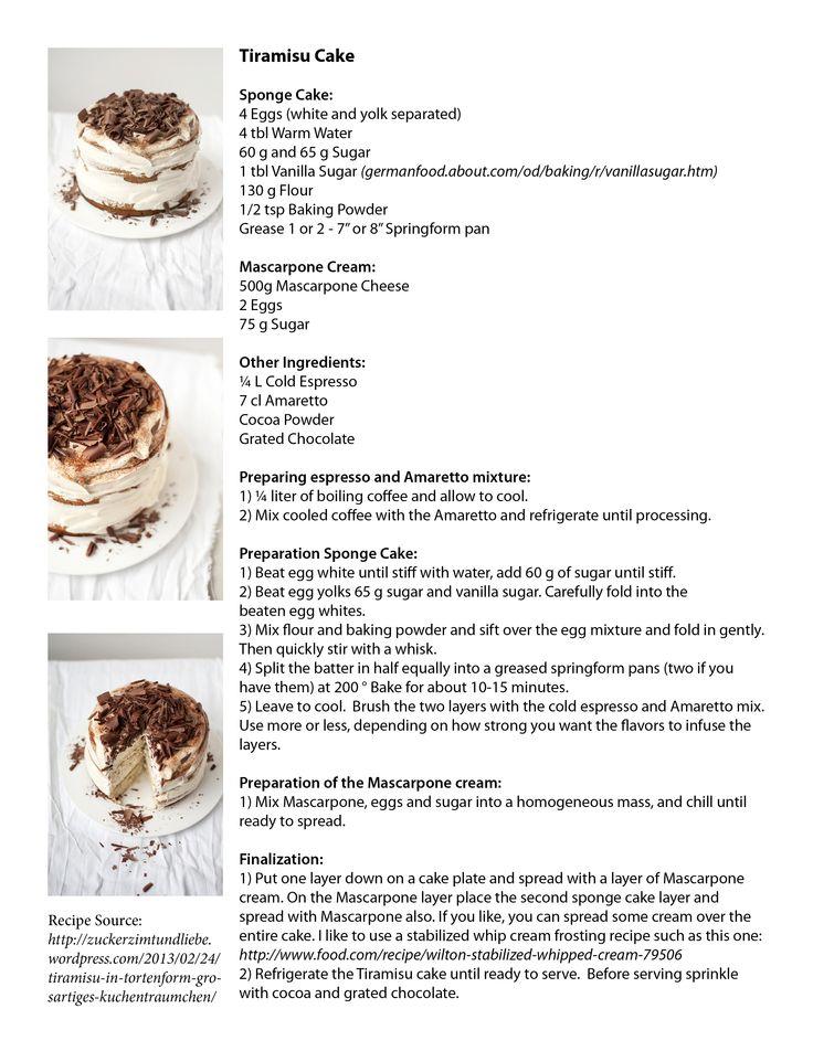 Tiramisu Cake Recipe - By far my most favorite cake!