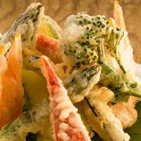 Benihana's vegetable tempura recipe
