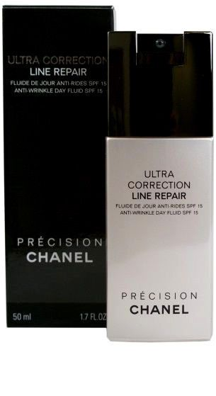 Chanel Precision Ultra Correction Line Repair Anti-Wrinkle Day Fluid pump bottle