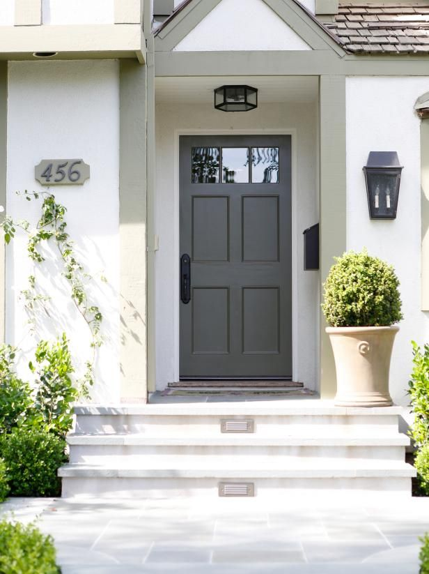 Decorating A Family Room Hgtv House Numbers Stucco Homes Front Door Paint Colors