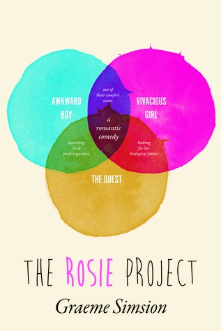 The Rosie Project by Graeme Simsion. 7.5/10 Actually really sweet and lovely. I can see it being made into a movie.