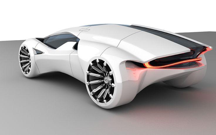 The Lexus Kunai By Sebastien Cabanel Envoyez Nous Vos Concept