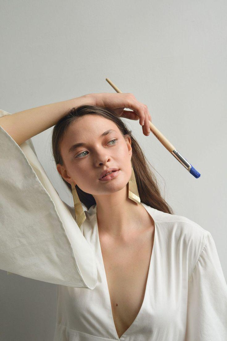 дениса автопортрет фотосъемка идеи поражает ногтевые пластины