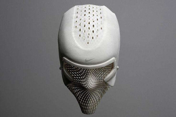 """Nike """"Cooling Head"""" custom helmet for Ashton Eaton."""