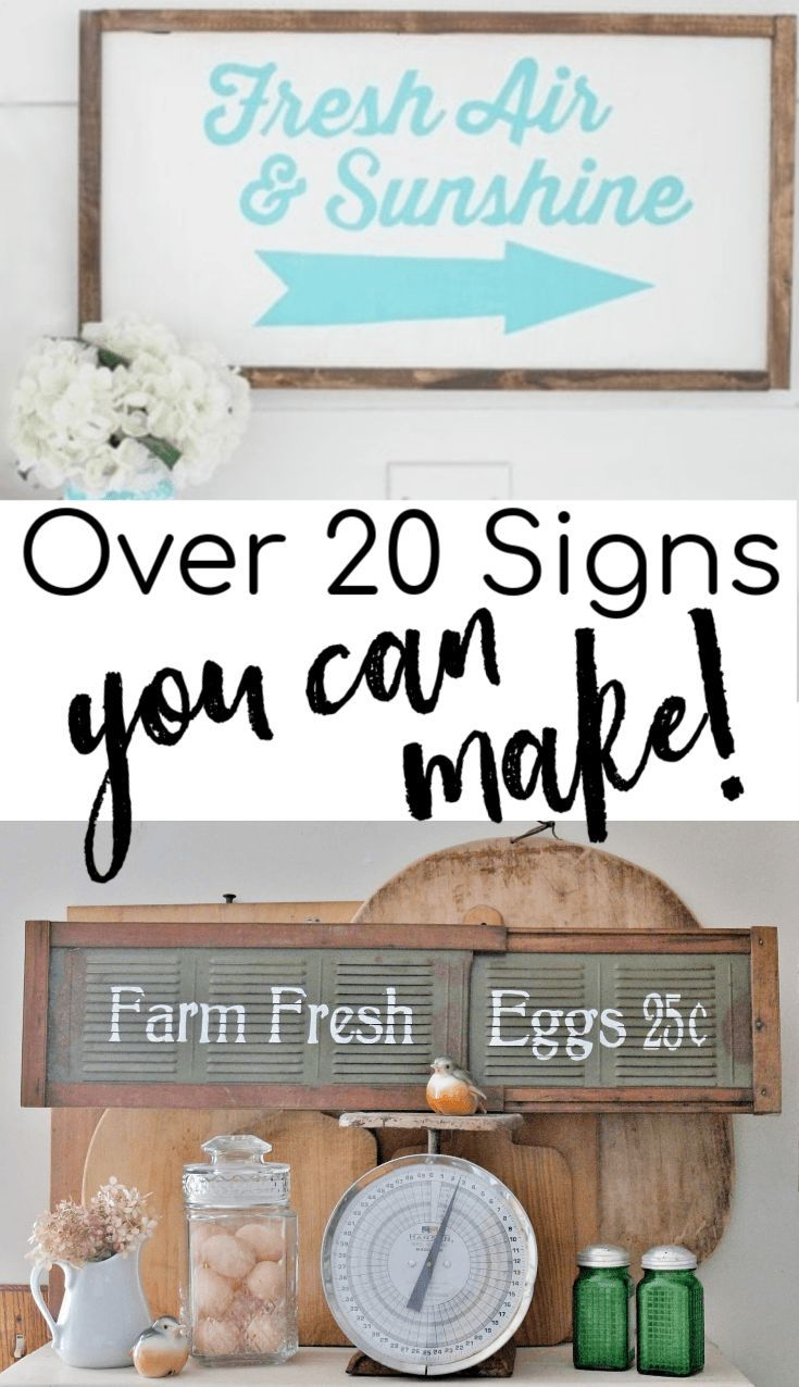 Over 20 Super Adorable Signs You Will Want To Make Cricut Ideas