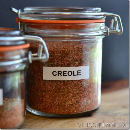 Homemade Cajun and Creole Seasonings