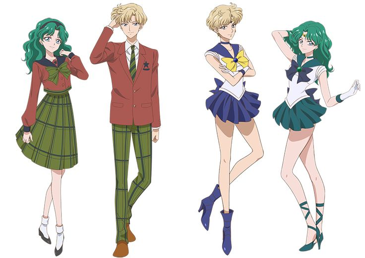Michiru & Haruka / Sailor Uranus & Sailor Neptune - SM Crystal III
