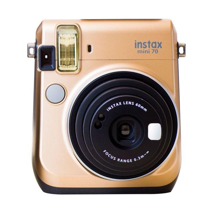 Fujifilm - Instax Mini 70 Instant Film Camera - Stardust Gold