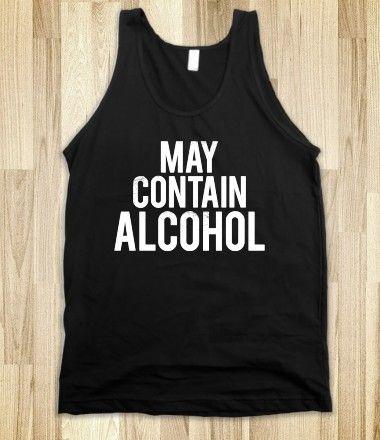 May Contain Alcohol (Dark Tank)