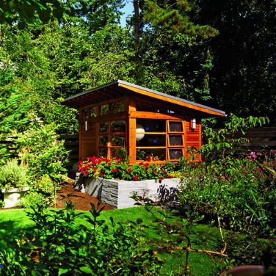 1000 images about meditation huts on pinterest gardens for Backyard cottage shed