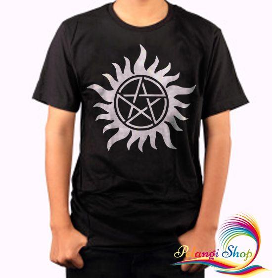 Anti Possession Symbol Supernatural Men's T-shirt, Tee