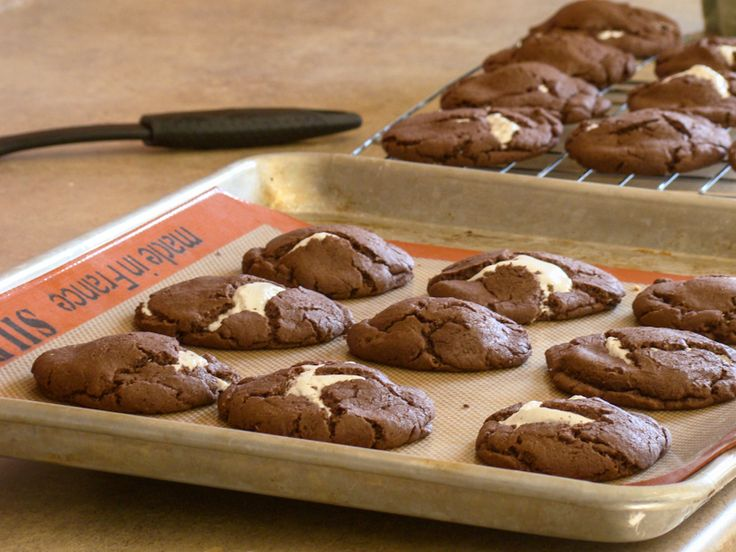 ... like this! Campfire Cookies {S'mores Cookies} - Budget Gourmet Mom