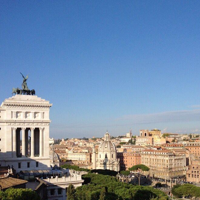Bird's eye-view of Rome | Browsingrome