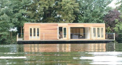 Eco Floating House is Serene Answer to Real Estate Woes : TreeHugger