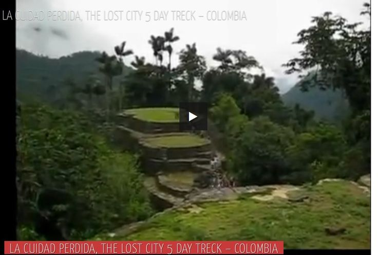 The lost City 5 day treck - Colombia