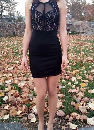 Kup mój przedmiot na #vintedpl http://www.vinted.pl/damska-odziez/krotkie-sukienki/11196781-sukienka-bodycon-siateczka-studniowka-xs-s