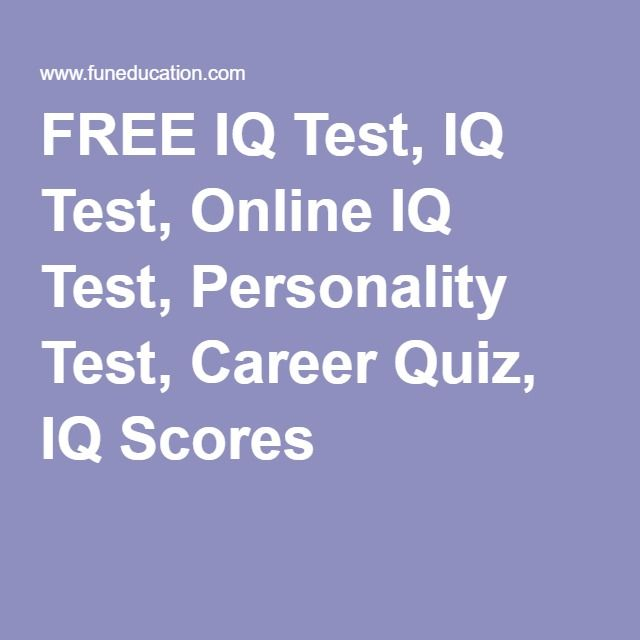 Your Free Career Test: Best 25+ Personality Test Quiz Ideas On Pinterest