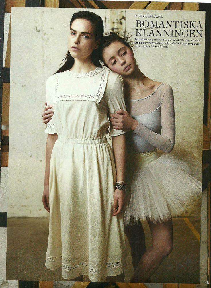 Timi featured in Damernas värld  #Damernasvärld #Magazine #Fashion #Ballerina #Inspiration #Timi
