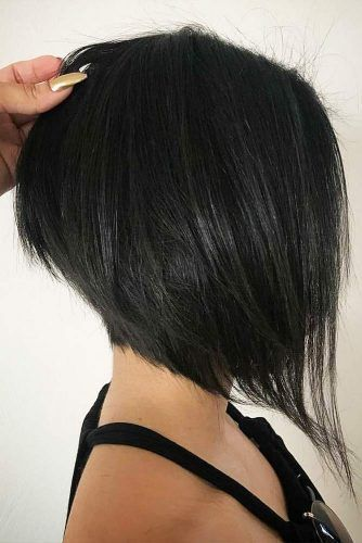 Dark Edgy Short Bob Haircuts Picture 3