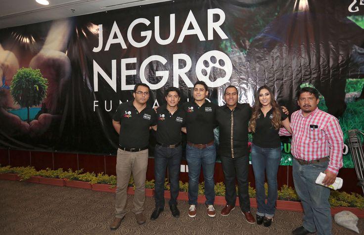 Presentan Fundación Jaguar Negro