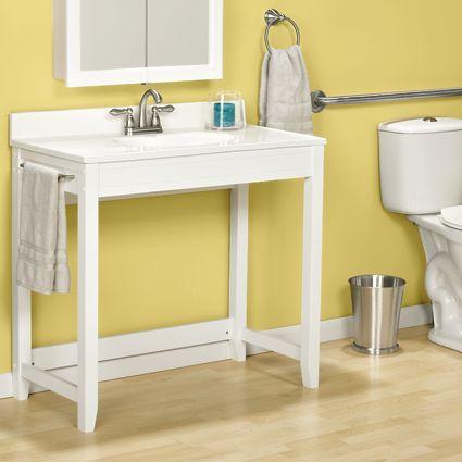Wheelchair Accessible Bath Vanities Parker 39 S Bathroom Pinterest Bathroom Vanities Shops
