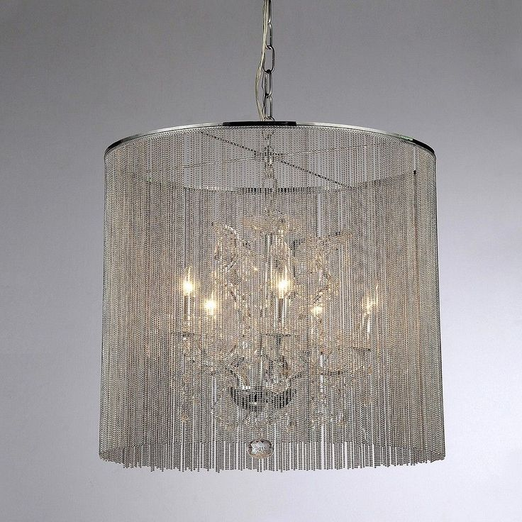 warehouse of tiffany chandelier ceiling lights silver silver - Tiffany Chandelier