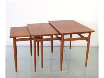 retro, svensk,teak,satsbord,bord,50-tal,60-tal,teakbord
