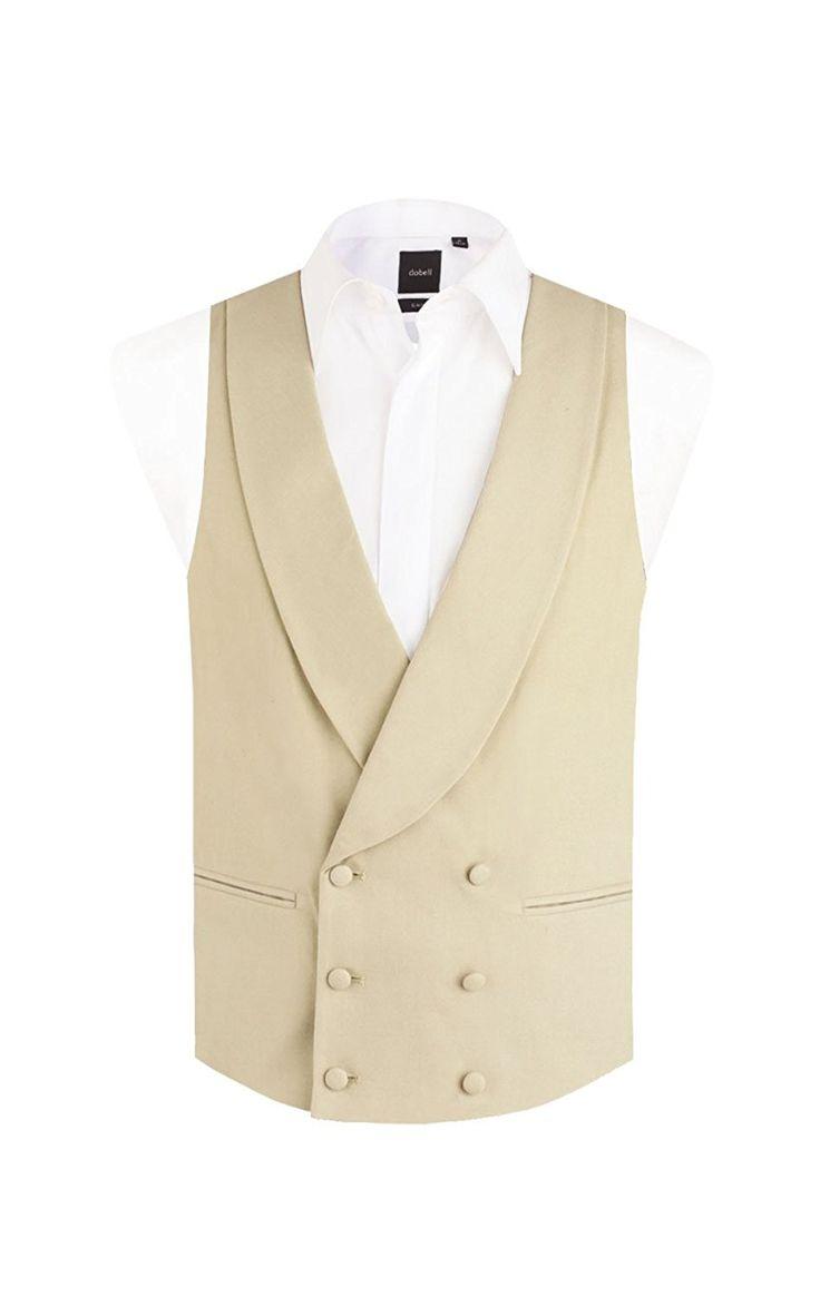 Dobell Mens Formalwear Smart Regular Fit Double Breasted Shawl Lapel Suit: Amazon.co.uk: Clothing