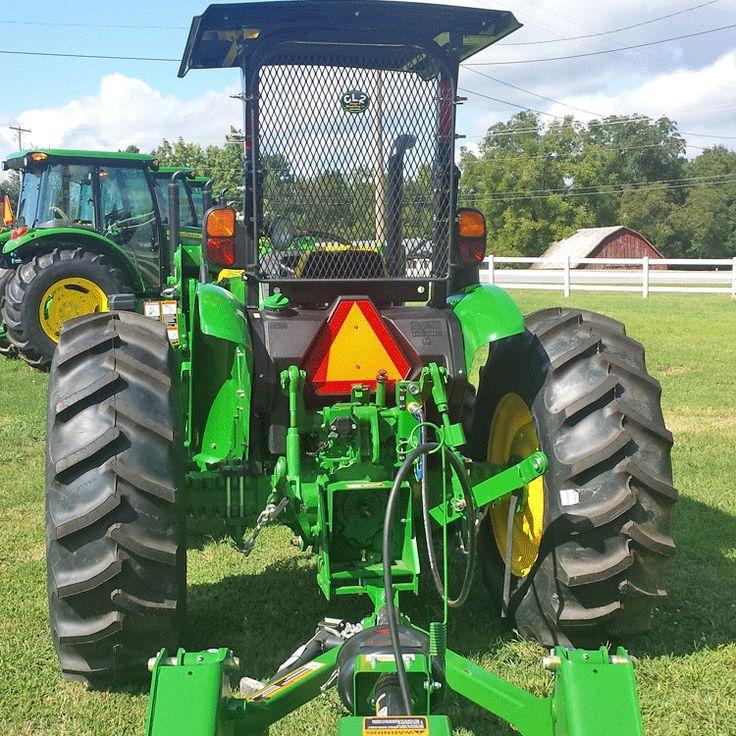 Rear Rock Screen Guard For John Deere 5000 Series Tractors FITS:5055E, 5065E, 5075E, 5085E, 5100E, 5155M
