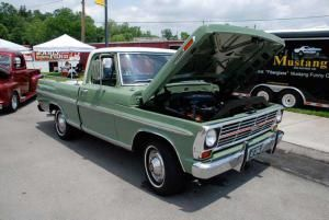 The History of Ford F-Series Trucks: Ford F-Series Pickup Trucks: 1967-1972