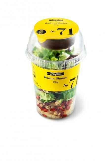Italian Shaker #salad #packaging PD