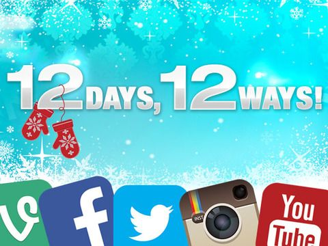 Find out all of the ways you can win one full day of prizes from the 12 Days of Giveaways!