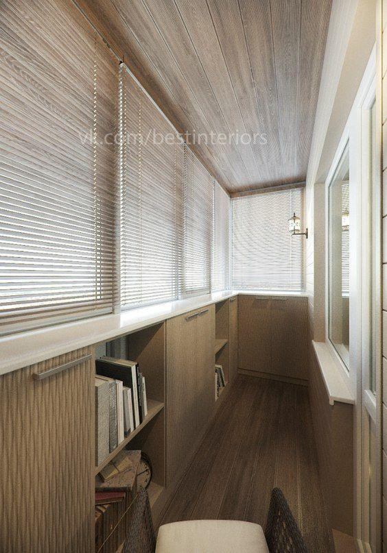 Дизайн интерьера балкона. фото #2