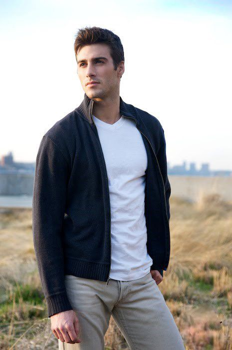 Justin Clynes. Cardigans and Sweaters- My next life, I wanna look like this.