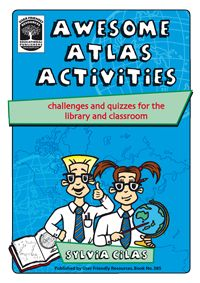 Developed by experienced teacher Sylvia Cilas, Awesome Atlas Activities provides a wide range of place-focused learning activities, high interest challenges, quizzes, puzzles designed to build mapping skills, and support learners to research information about continents, countries, capital cities, and physical features. They are arranged into mini units that focus on each of the continents. Answers are provided for all activities.