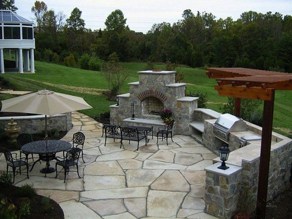 Outdoor Kitchen Design Ideas Cook Outdoors In Style By Changing Your Backyard Or Patio Into A Special Area For Entertaining Family
