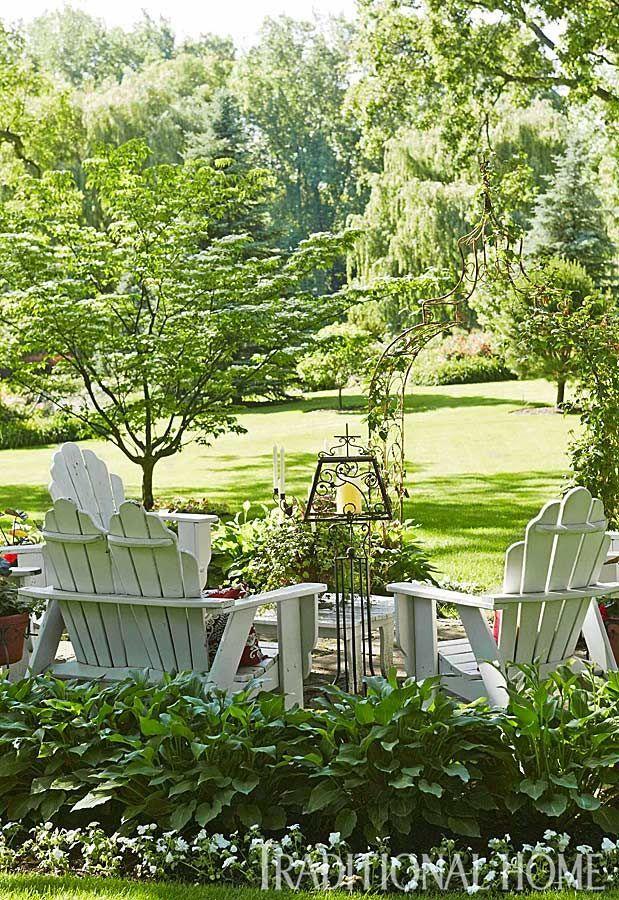 DIY Garden Sitting Areas