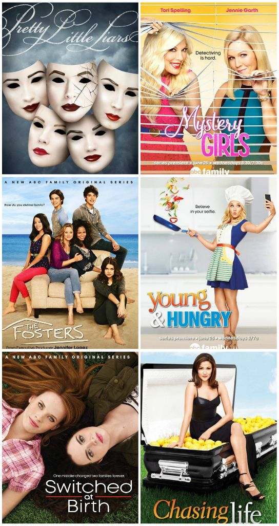 Watch ABC Family TV Shows Online